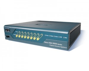 Cisco ASA 5505 firewall.
