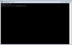 ssh username password